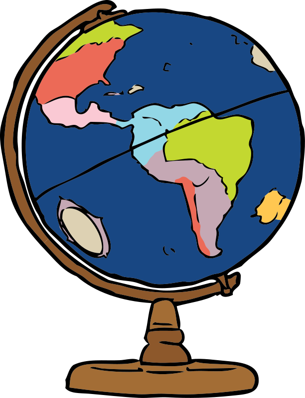 Globe clipart free images