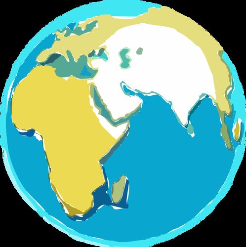 Globe free clipart vectors 2
