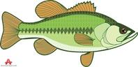 Gone fishing clip art markbs bass clipart clipartandscrap