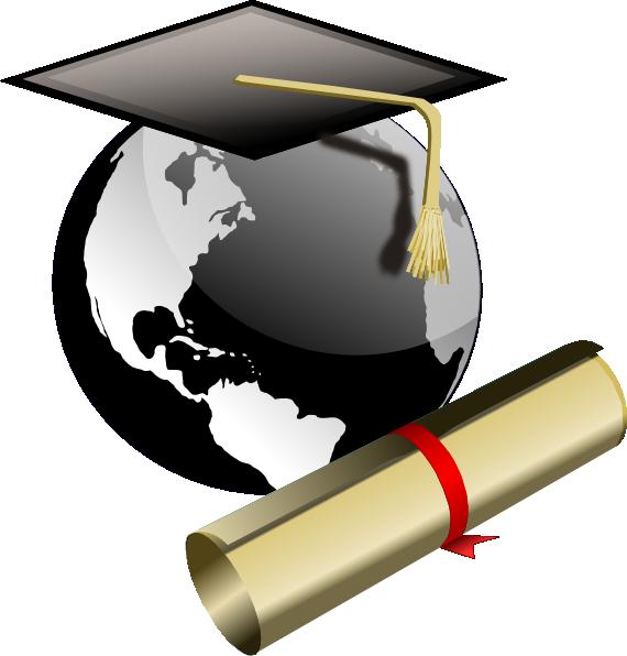 Graduation graduate clip art at vector clip art