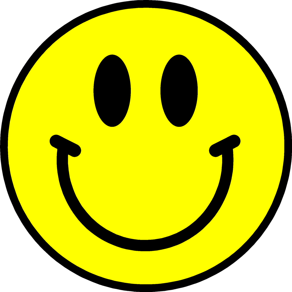 Happy face clip art smiley clipart 3