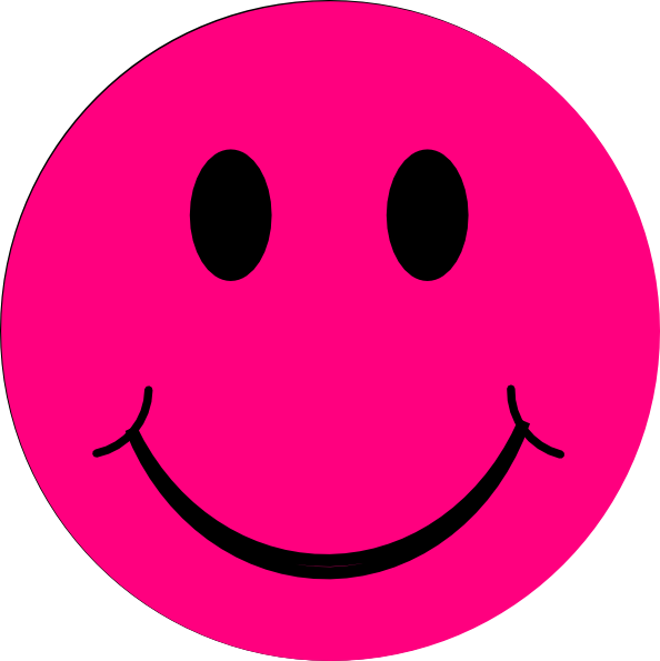 Happy face clip art smiley clipart image 4
