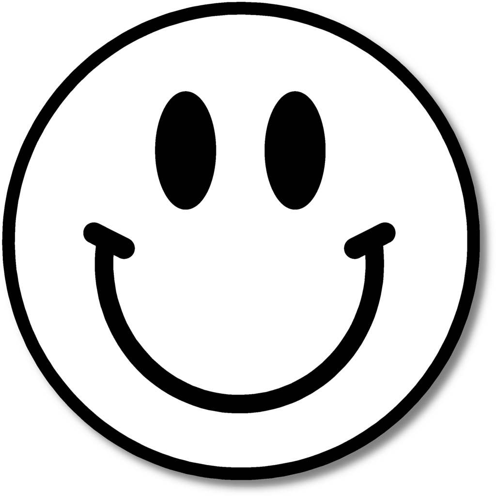 Happy face smiley emotions clip art free