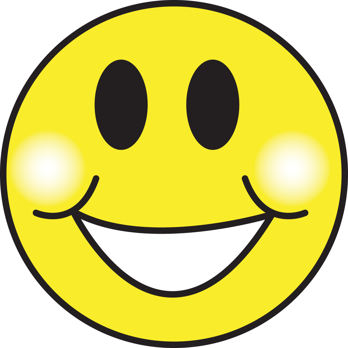 Happy face smiley face clip art emotions free clipart images