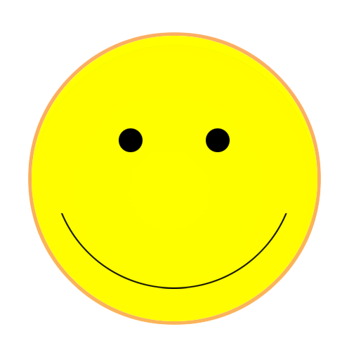 Happy face smiley face clipart