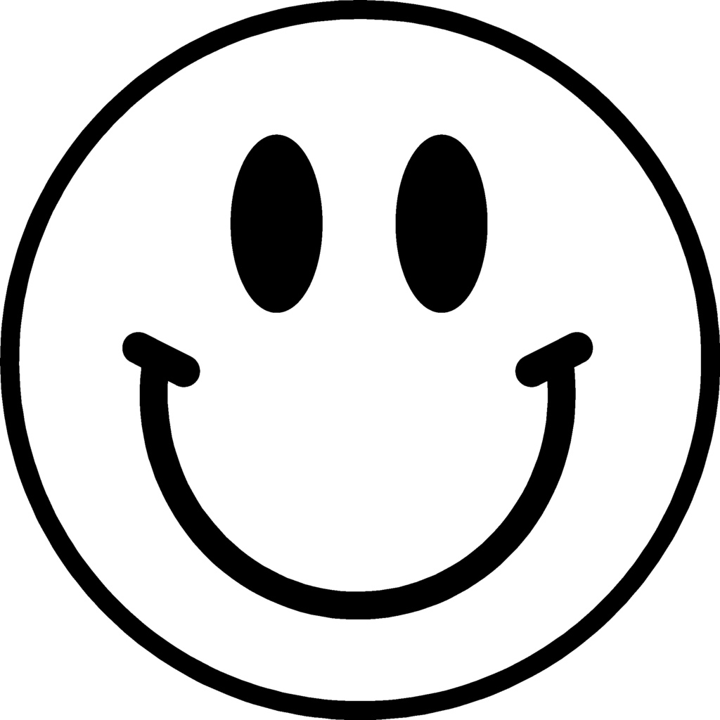 Happy face smiley face transparent background free clipart