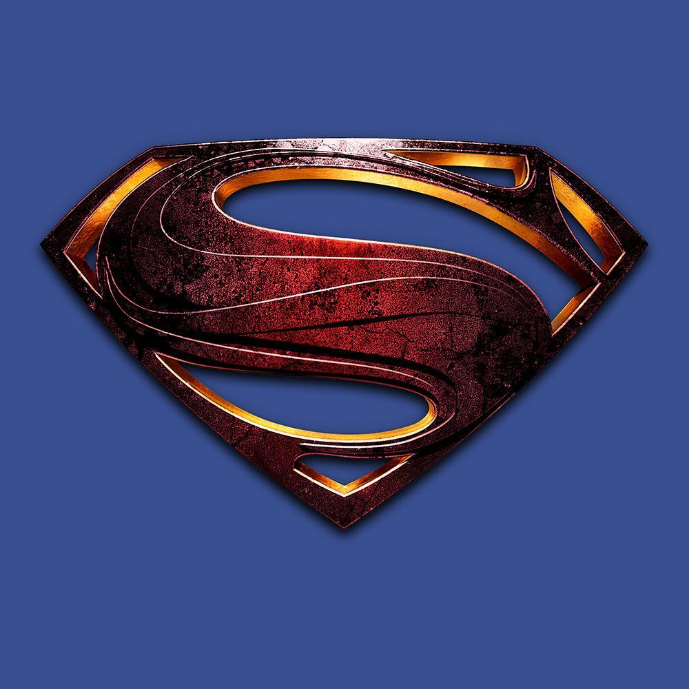 Justice league shirt superman logo uk