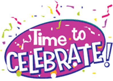 Kids celebration clip art free clipart images 3