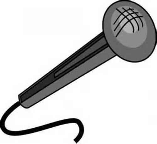 Microphone clip art free clipart images 6