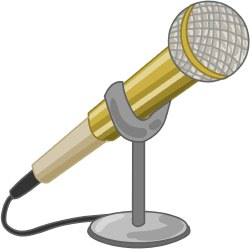 Microphone clip art free clipart images 7