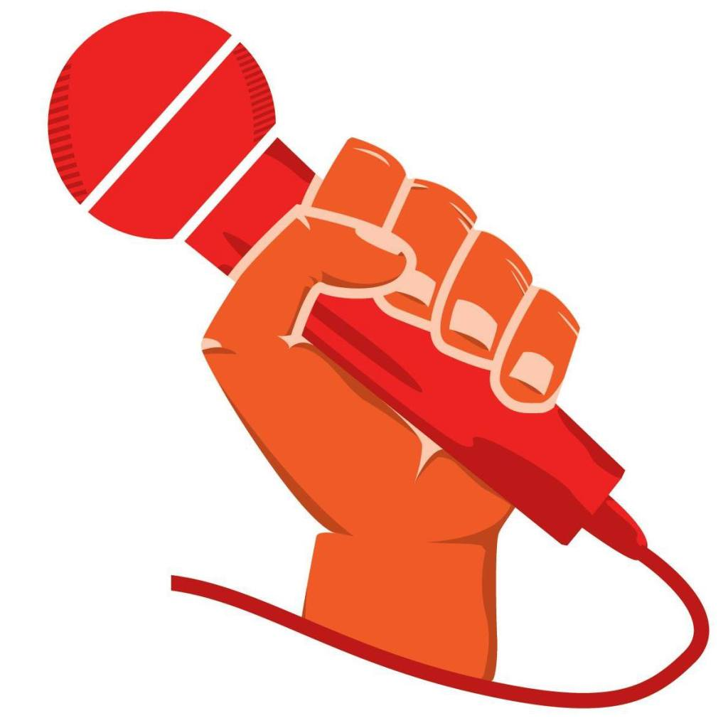 Microphone clipart 2