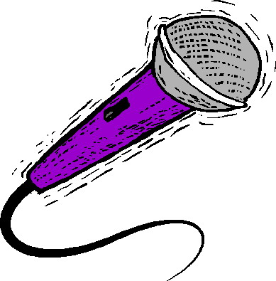 Microphone clipart 3