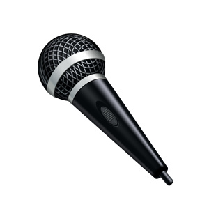 Microphone clipart free images 4
