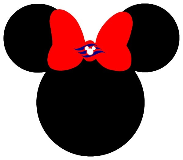 Minnie mouse head glass clipart mickey mouse pencil and in color glass