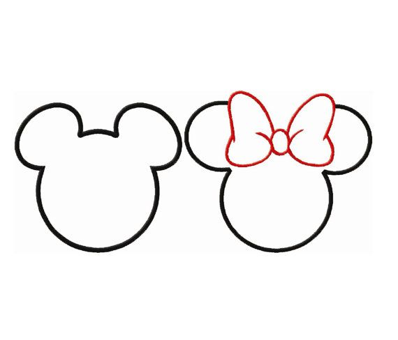 Minnie mouse head images of minnie mouse face template printable clip art