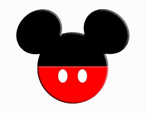 Minnie mouse head mickey mouse mickey and minnie ears clipart 2