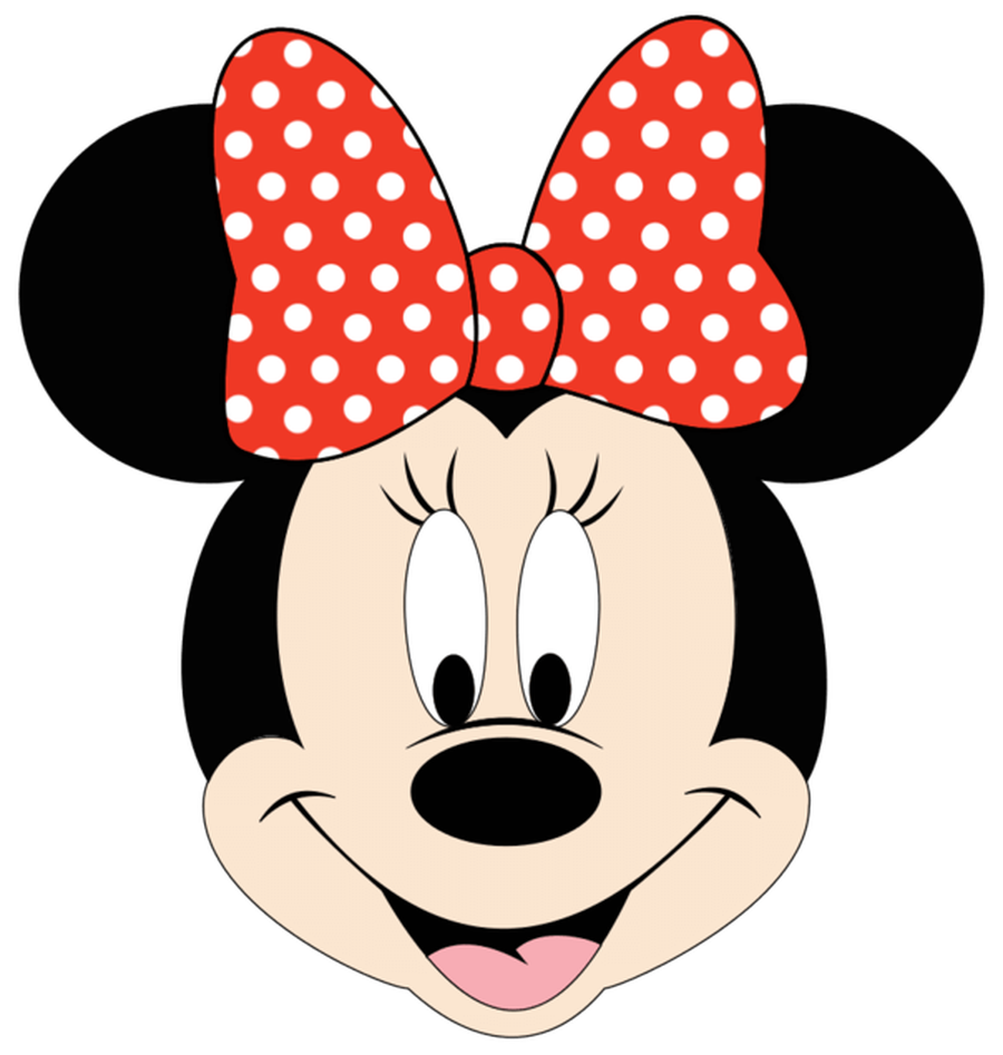 Minnie mouse head minnie mouse clip art 6