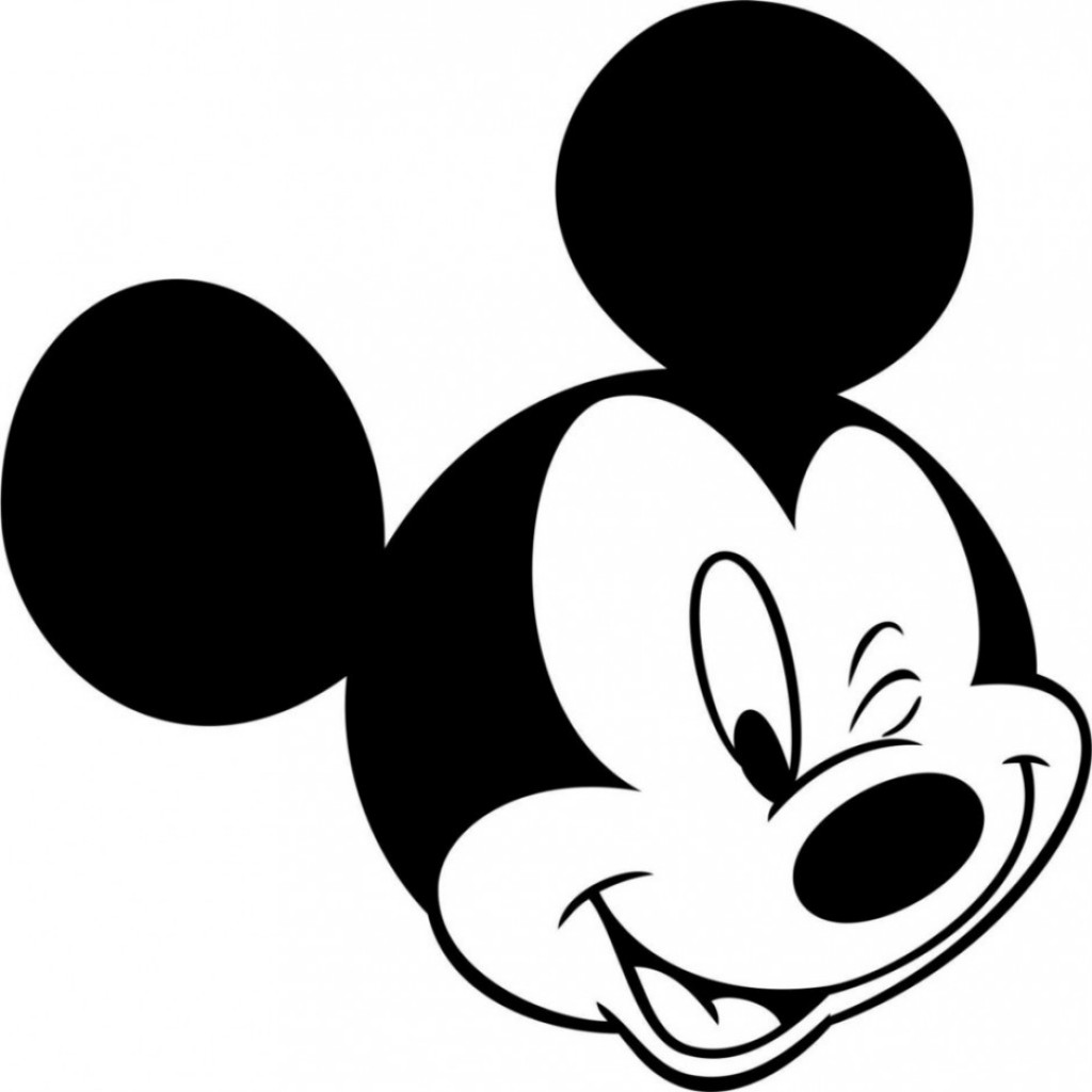 Minnie mouse head minnie mouse face coloring pages free download clip art