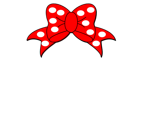 Minnie mouse head minnie mouse white clip art at vector clip art