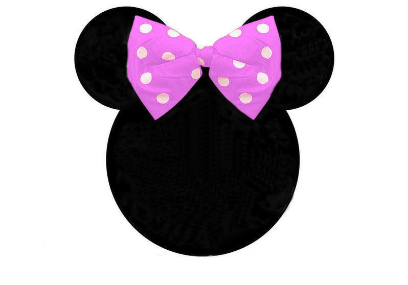 Minnie mouse head outline clip art
