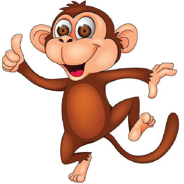 Monkey clip art 3