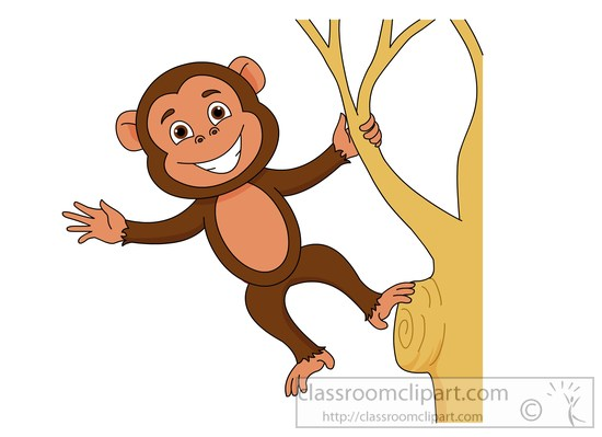 Monkey clip art for babies free clipart images clipartpost