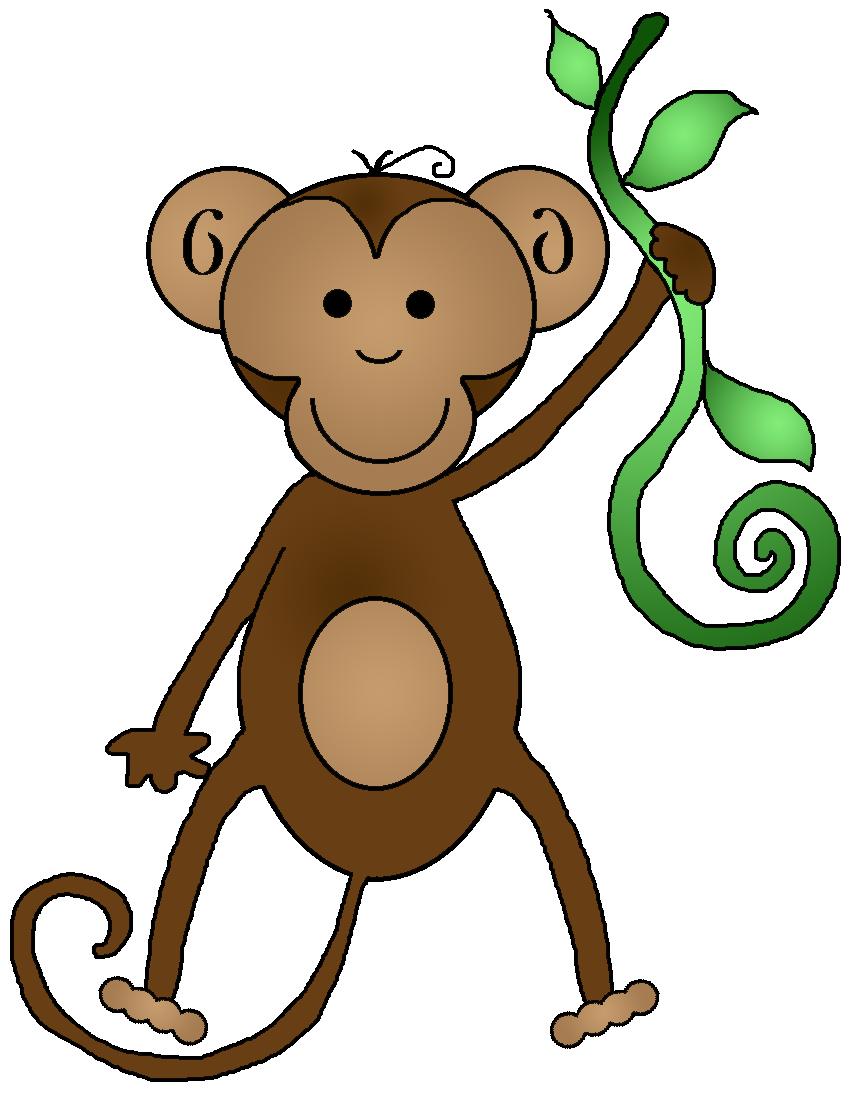 Monkey clip art for teachers free clipart images 3