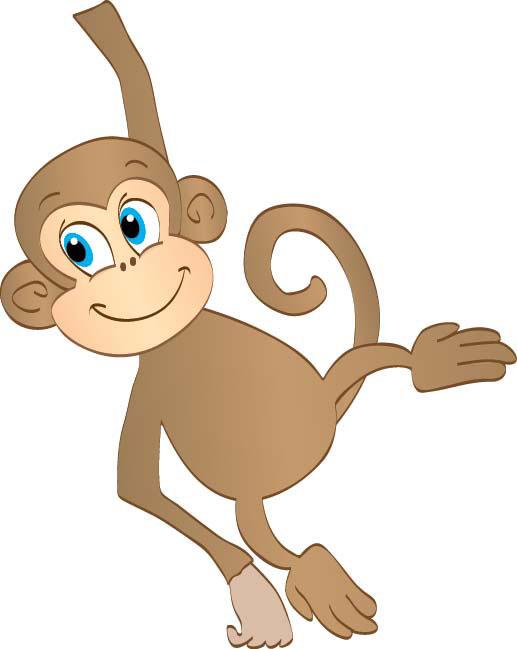 Monkey clip art free clipart images clipartandscrap