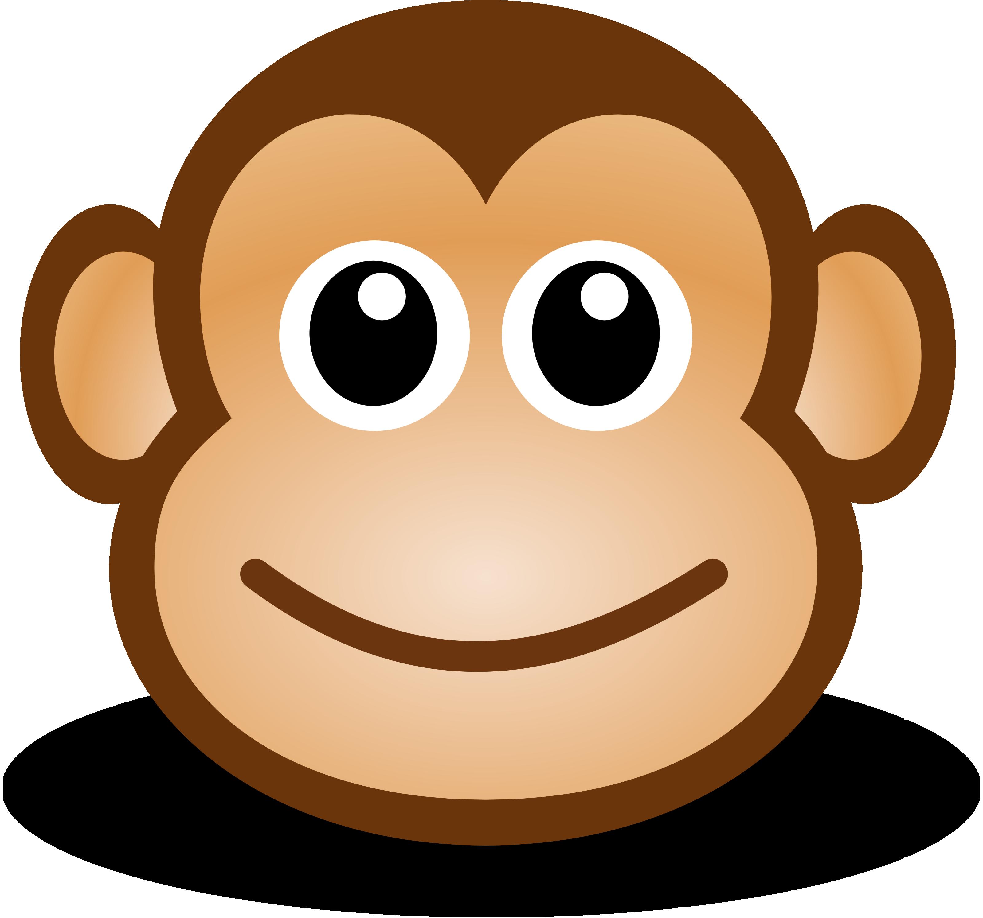 Monkey clipart 3