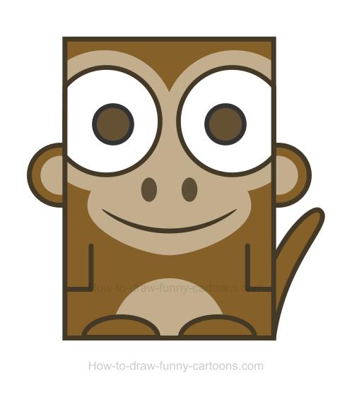 Monkey clipart 4