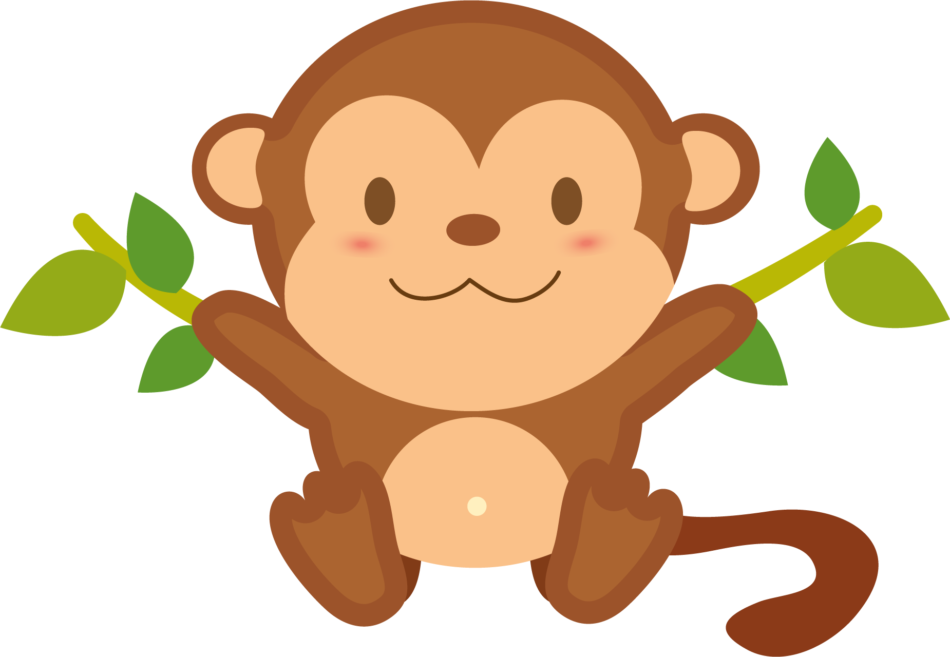Monkey transparent free images only cliparts clipartpost