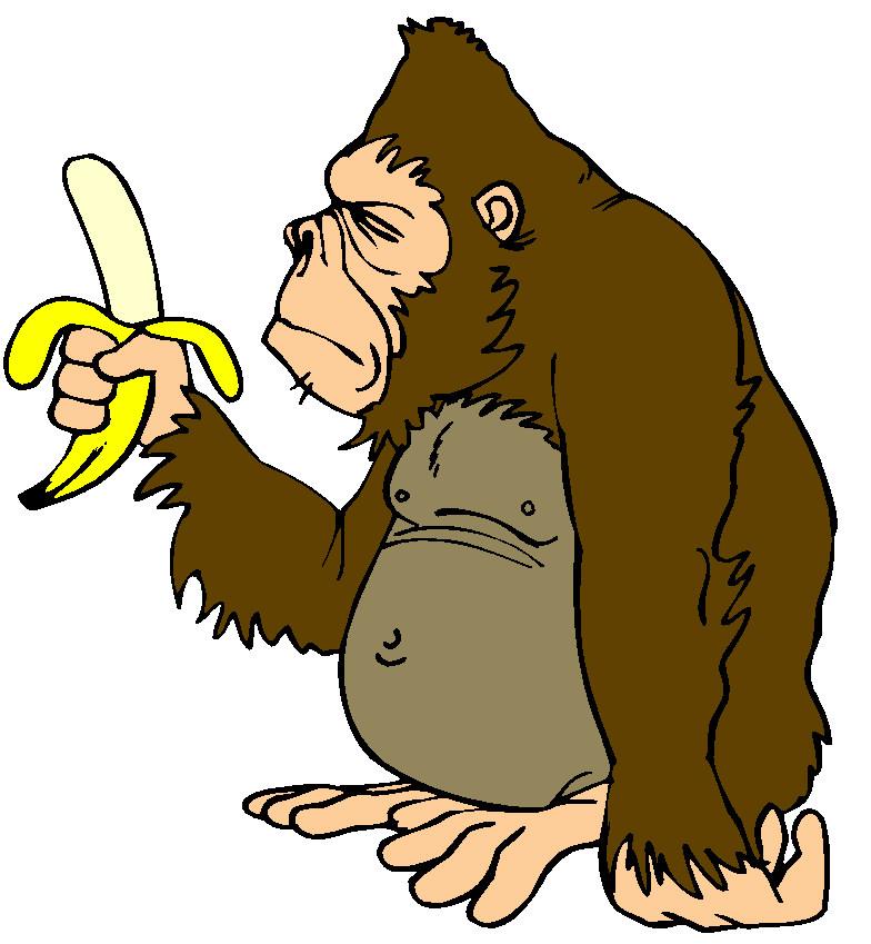 Monkeys clip art free clipart images 2