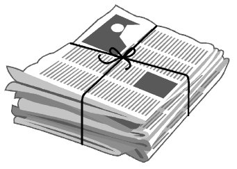 Newspaper clip art cliparts 2