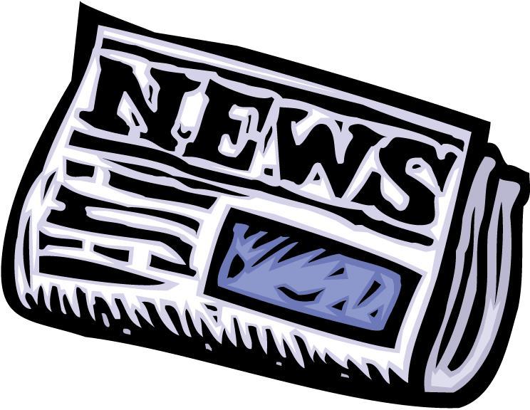 Newspaper clipart 8