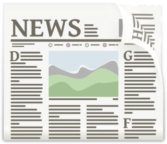 Newspaper clipart collection