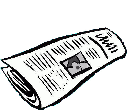 Newspaper clipart free images 5