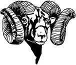 Of a ram clipart