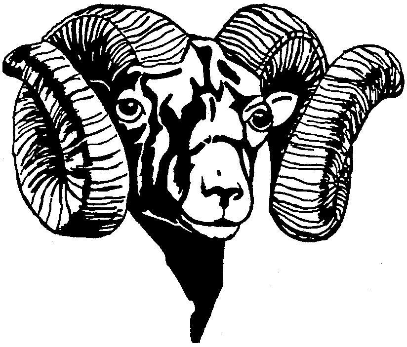 Of a ram clipart