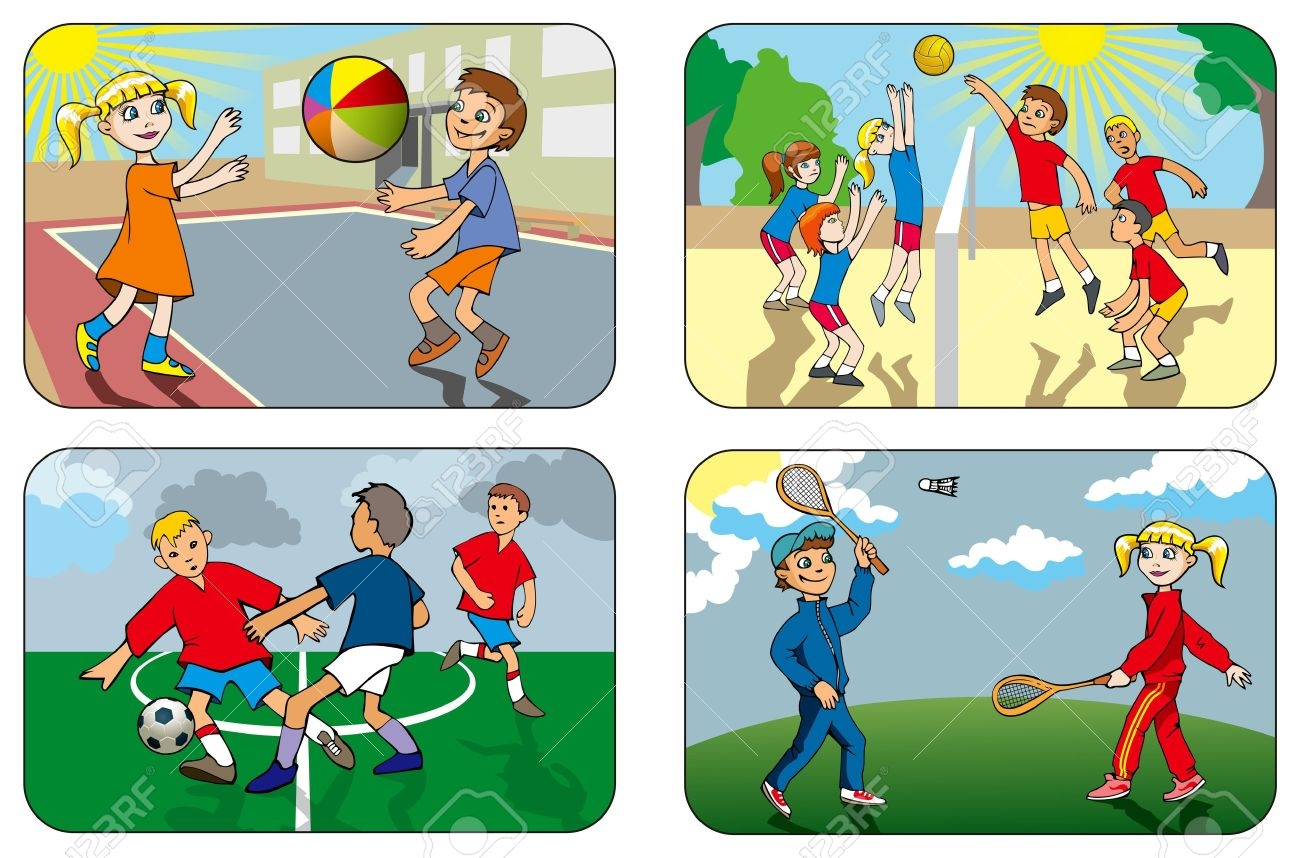 Outdoor games cliparts free download clip art
