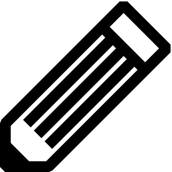 Pencil  black and white black and white pencil clip art free vector 4vector