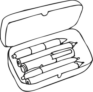 Pencil  black and white clipart black and white