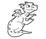 Pencil  black and white dragon clipart black and white pencil in color dragon