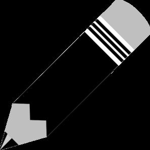 Pencil  black and white pencil clip art at vector clip art