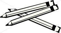 Pencil  black and white pencil clipart black and white in color pencil