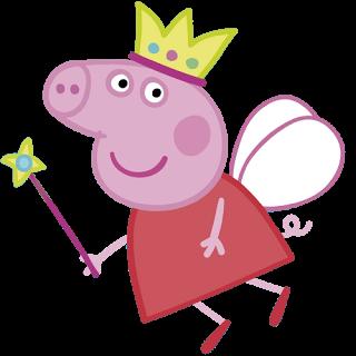 Peppa pig princess clipart clipartxtras