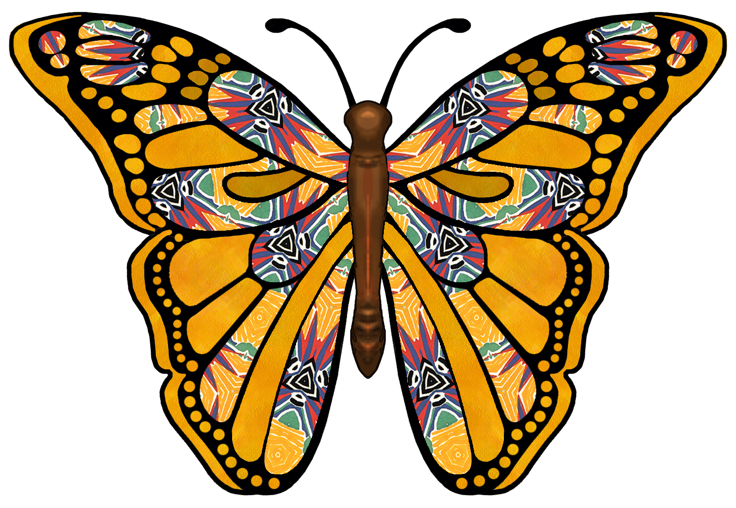 Picture of a butterfly clipart clipartbarn