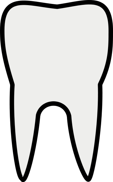 Picture of a tooth free download clip art on