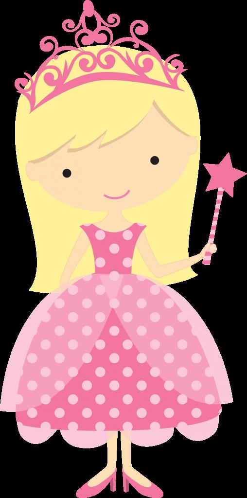Princess birthday clipart