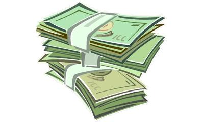 Reward money clipart free