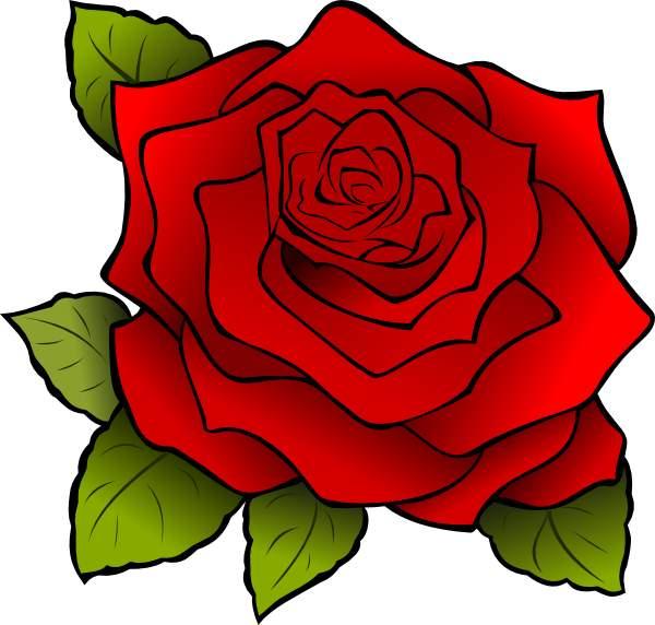 Rose clip art border free clipart images clipartandscrap
